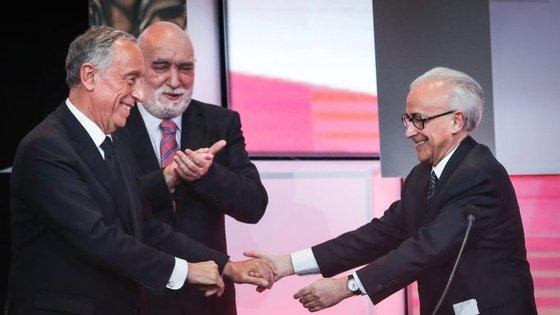 A gala de entrega de prémios da Sociedade Portuguesa de Autores decorreu esta terça-feira à noite, no Centro Cultura de Belém