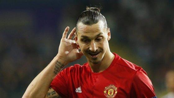 Zlatan lesionou-se em abril de 2017 e não voltou a recuperar a regularidade