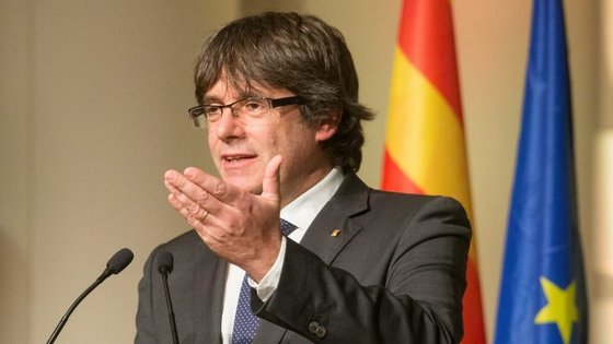 Carles Puigdemont está na Bélgica desde outubro de 2017