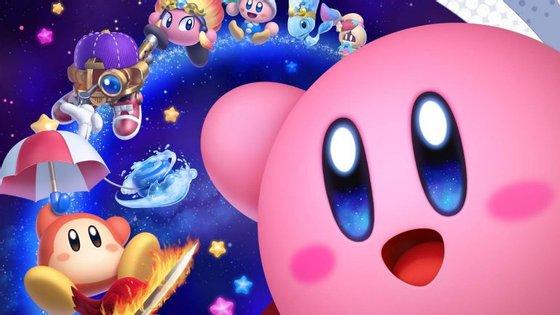 Kirby regressa às consolas domésticas da Nintendo, agora com a possibilidade de ser jogado por até 4 pessoas.