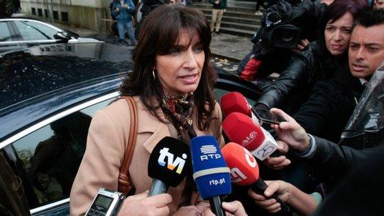 Mónica Quintela é a porta-voz do PSD para a Justiça.