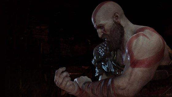 """Kratos está mais velho e diferente do """"deus da guerra"""" irascível da trilogia original"""
