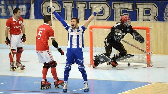 Rafa apontou o primeiro golo logo aos três minutos, quando o FC Porto estava em situação de power play