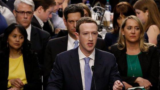 Mark Zuckerberg esteve a ser ouvido no Congresso na última terça-feira e quarta-feira