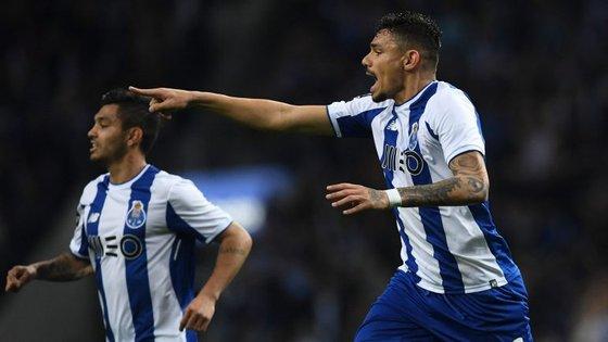 Soares marcou o único golo da primeira mão da meia-final da Taça de Portugal no Dragão