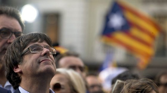 O político de 55 anos saiu da Catalunha em outubro
