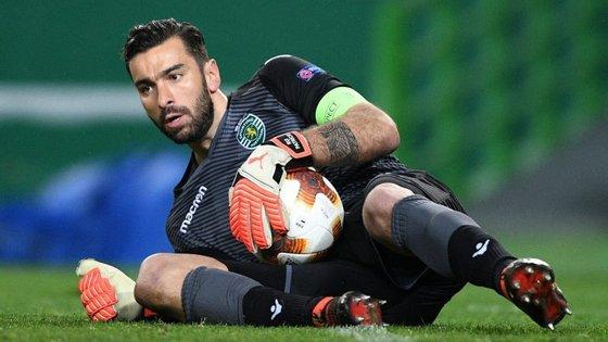 Rui Patrício tem sido um esteio nos jogos em casa do Sporting nas provas nacionais, não sofrendo golos desde 5 de novembro