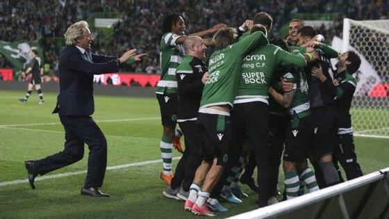 Depois do desempate na Taça da Liga, Sporting voltou a ser mais forte nas grandes penalidades na Taça de Portugal