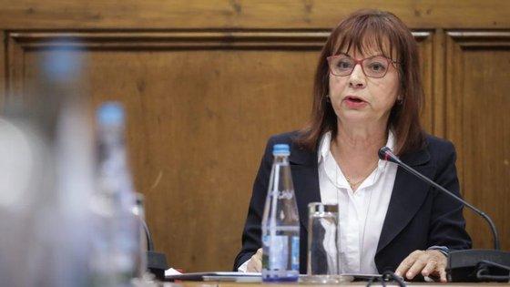 Proposta de lei do Governo foi defendida no parlamento pela ministra da Presidência do Conselho de Ministros, Maria Manuel Leitão Marques