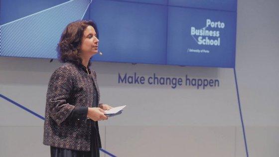 Rita Marques foi diretora executiva da área de MBA e Pós-Graduações da Porto Business School e é agora a nova presidente do conselho de administração da PV