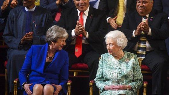 A rainha celebra habitualmente o seu aniversário em privado com a família