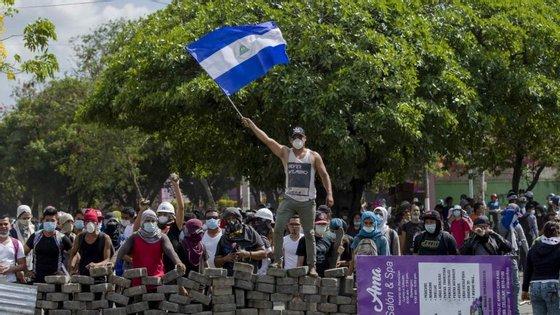 O governo de Nicarágua diz estar disposto a negociar reforma na segurança social