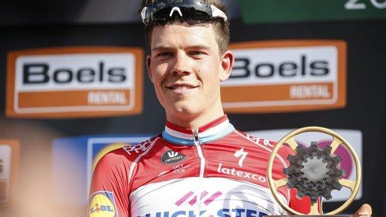 O campeão luxemburguês, de 25 anos, completou os 258,5 quilómetros da corrida belga em 6:24.44 horas