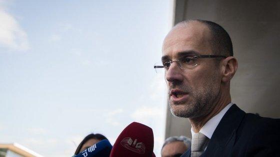O advogado Rui Patrício representa o ex-vice-presidente angolano, Manuel Vicente, acusado de corrupção no processo Fizz
