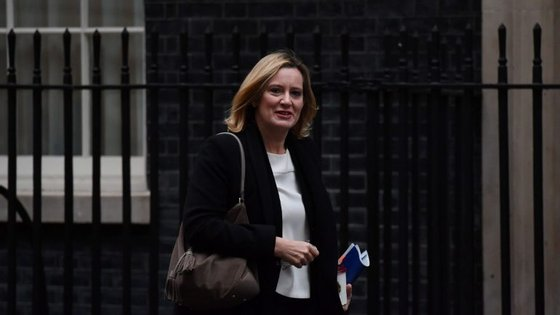 Amber Rudd, ministra do Interior