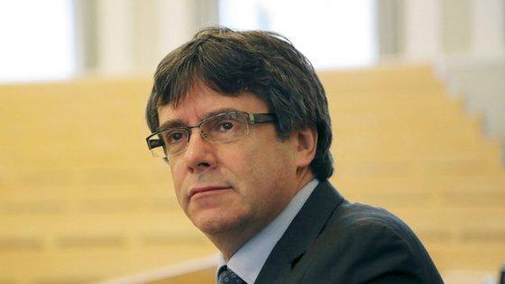 Carles Puigdemont, ex-presidente da Catalunha