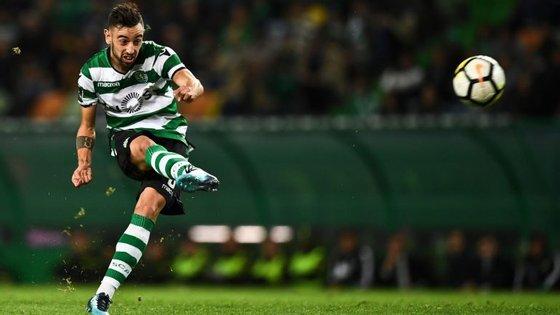 Bruno Fernandes voltou a ser decisivo com um remate de meia distância, uma das suas especialidades