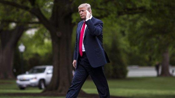 """Donald Trump mandou uma mensagem à Câmara dos Representantes: """"MUDEM AS LEIS!"""""""