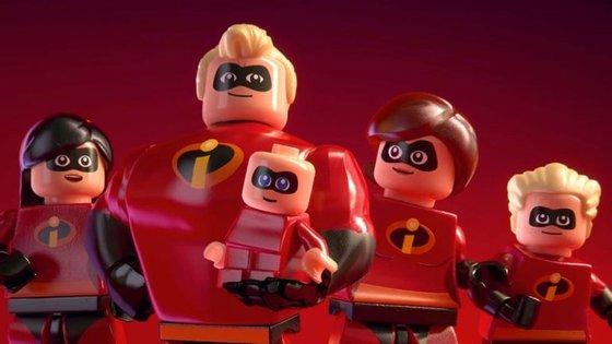 O mais recente videojogo da Lego é dedicado à família Parr
