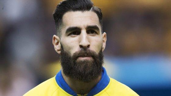 Jimmy Durmaz joga pela principal seleção sueca desde 2011