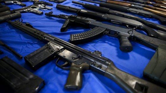 A PSP já destruiu quase 30 mil armas este ano