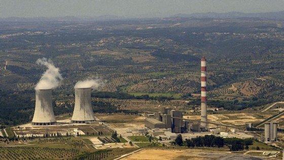 Central de produção de energia elétrica