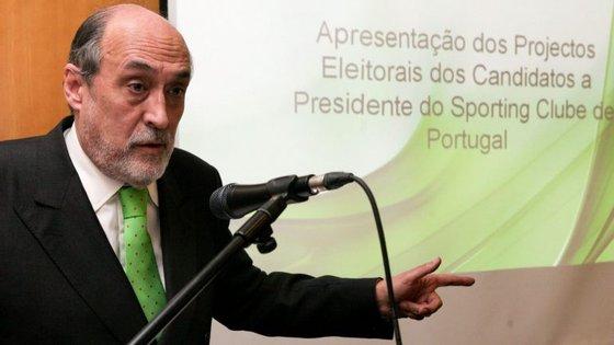 Dias Ferreira candidatou-se à presidência do Sporting em 2011, ano em que Godinho Lopes foi re-eleito