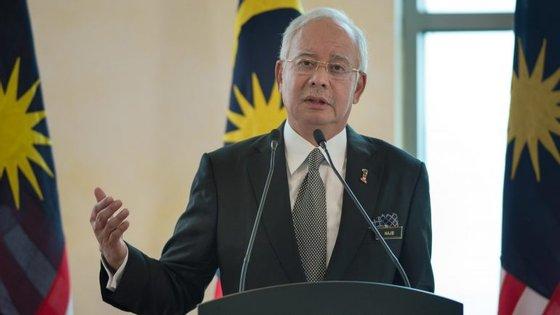 Najib Razak, antigo primeiro-ministro da Malásia