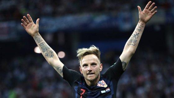 """Rakitic, médio do Barcelona, tem brilhado em dupla com Modric, """"rival"""" do Real Madrid"""