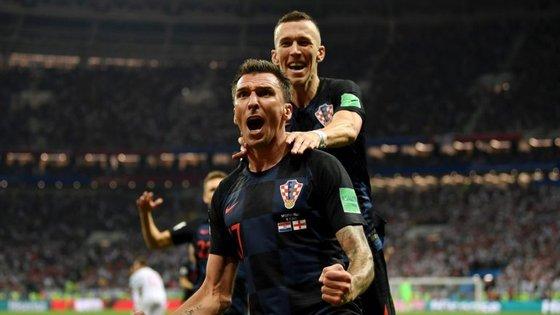 Perisic levou o jogo para prolongamento e assistiu Mandzukic para o golo que valeu histórica final do Mundial à Croácia