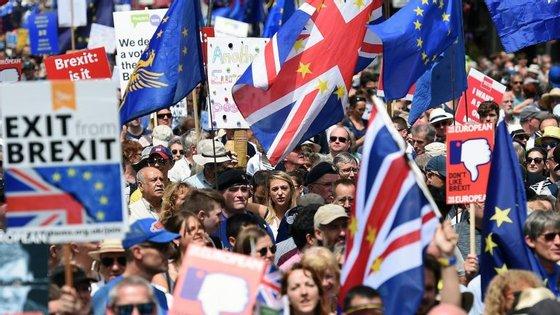 O Brexit foi aprovado em referendo pelos britânicos a junho de 2016