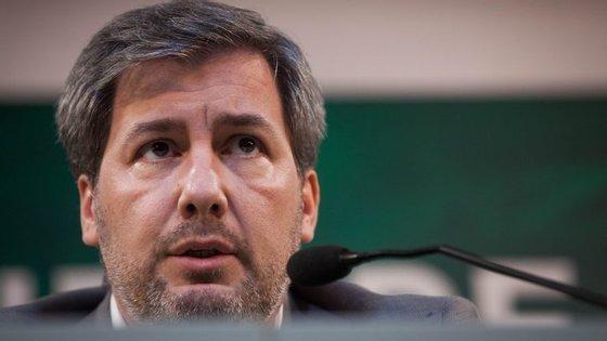 Bruno de Carvalho apresentou esta semana a sua recandidatura à presidência do Sporting
