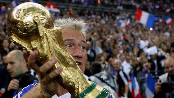 Didier Deschamps foi campeão de mundo em 1998, num ano de sonho em que a França organizou e ganhou a prova
