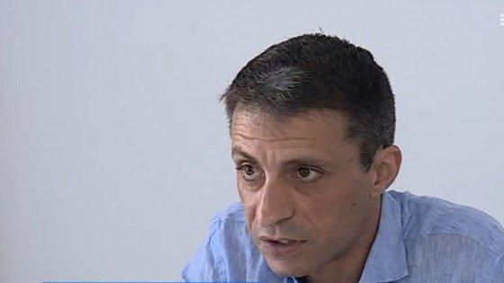 Orlando Gonçalves, coordenador do Sindicato da Função Pública do Norte