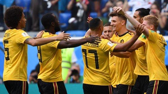 Meunier e Hazard marcaram os dois golos que valeram à Bélgica a melhor prestação de sempre num Mundial