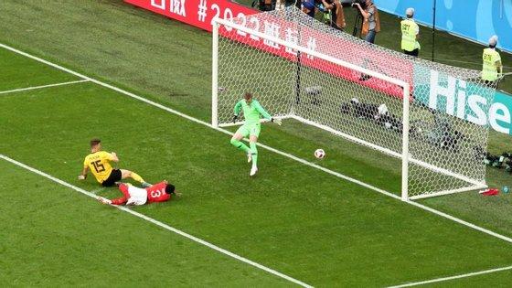 Meunier apontou o primeiro golo frente à Inglaterra, numa vitória (2-0) que daria à Bélgica o terceiro lugar no Mundial