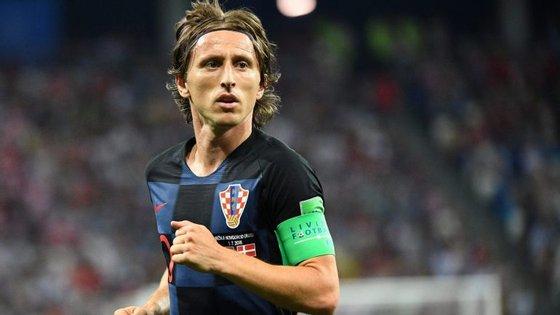 Modric foi eleito o melhor jogador do Mundial e o melhor do ano para a UEFA