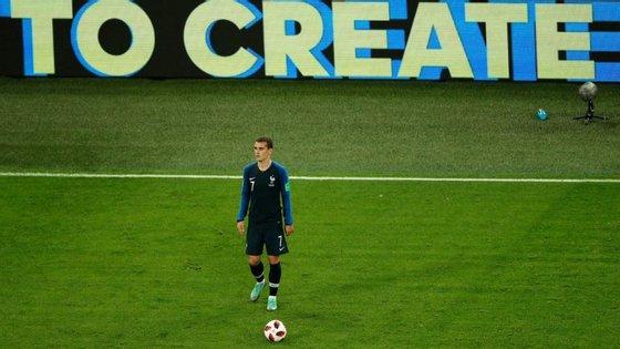 Griezmann: com ou sem bola, as suas ações serão preponderantes para esta França diante desta Croácia
