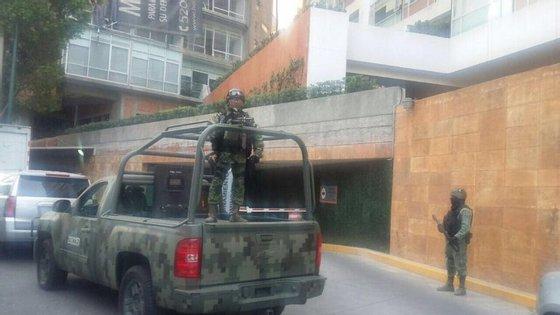 Jesus Contreras foi detido numa operação da Polícia Federal no estado central de Querétaro