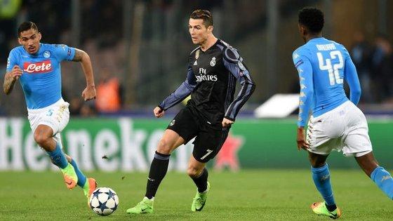 Nápoles foi uma hipótese em cima da mesa para Cristiano Ronaldo mas líder napolitano não quis arriscar em termos financeiros