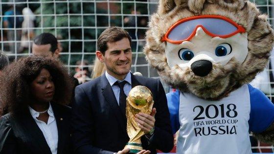 Casillas, que esteve em Moscovo durante o Campeonato do Mundo, continua a torcer o nariz às decisões do VAR
