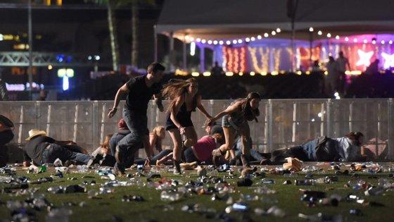 O ataque em Las Vegas fez 59 mortos e mais de 500 feridos