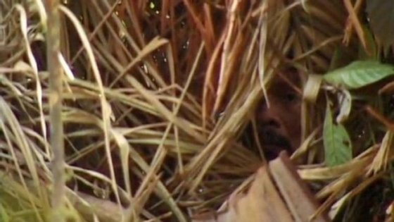"""O """"Índio do Buraco"""" (imagem retirada do website da Fundai)"""