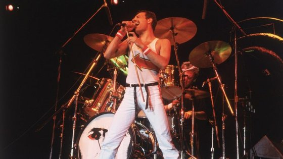 Freddie Mercury, 1982.