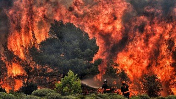Estes são os piores incêndios na Grécia nos últimos 10 anos