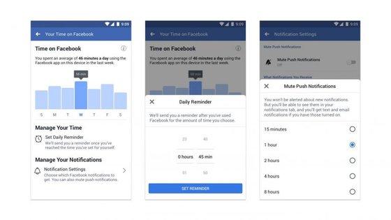 Um utilizador passou, em média, 135 minutos por dia de redes sociais em 2017, segundo a Statista