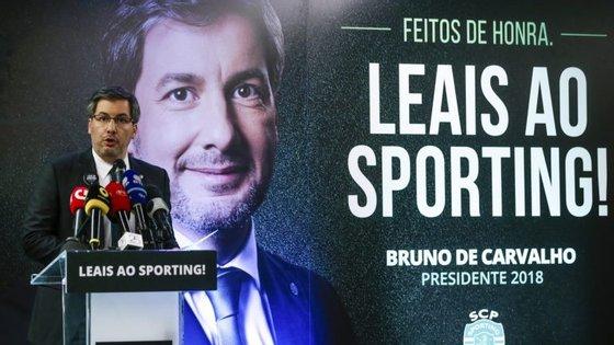 Bruno de Carvalho teve casa cheia na inauguração da sede de campanha, nos Restauradores