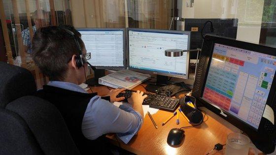 O número de emergência 112 é usado em toda a União Europeia. Aqui, uma central em Cracóvia (Polónia)