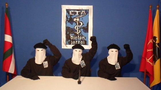 A ETA anunciou a sua dissolução total a 3 de maio deste ano