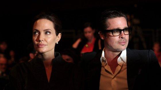 Brad Pitt e Angelina Jolie separaram-se em 2016.